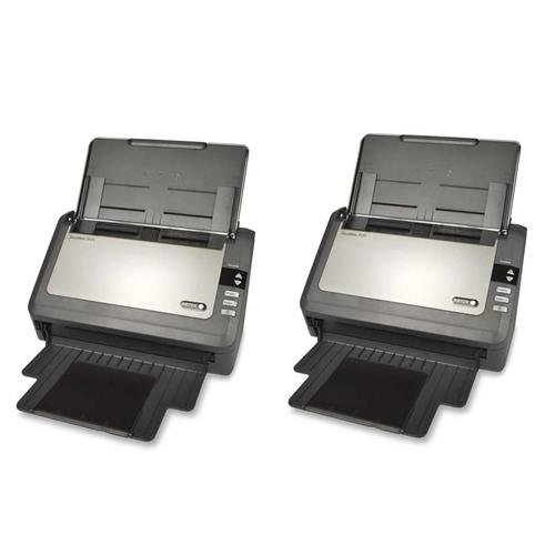 Xerox 2x DocuMate 3120 Sheetfed Scanner, 20ppm (Simplex) / 40ipm (Duplex), 600 dpi Optical Resolution, 50 Sheets ADF Capacity by Xerox