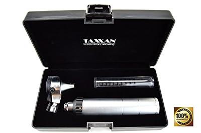 Taxxan Led Matte Fiber Optic Otoscope Set Ent Diagnostic Kit With Adult, Child, Infant Specula Tips
