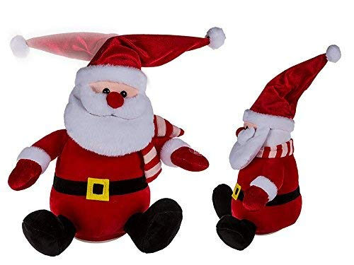 (Toyland Plush Santa With Dancing Hat - Novelty Christmas Decorations)