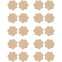 WingsLove 10 Pairs Womens Adhesive Nipple Covers Disposable Breast Petal
