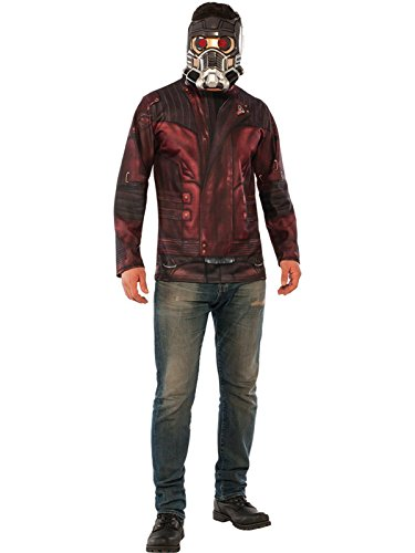 Rubie's Costume Co Guardians of The Galaxy Vol. 2 Star-Lord Costume Top and Mask, Multi, Standard -