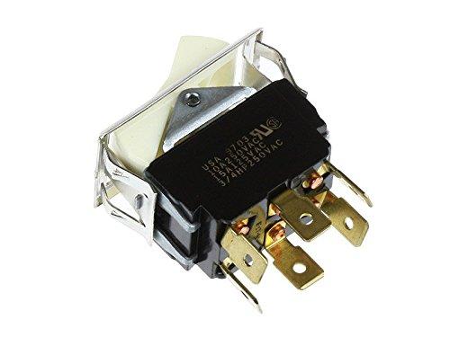 Lincoln 21351SP Rocker Switch Bun//Toast