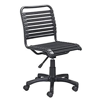 Cool Zuo Modern Stretchie Office Chair Black Bungee Style Weave Right Mix Of Comfort And Flexibility 250 Lbs Weight Capacity Dimensions 22 8W X 33 5H Dailytribune Chair Design For Home Dailytribuneorg