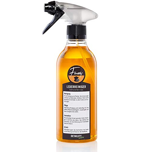 Detailify Leather Cleaner Foamy Car Seats Leather Care Clean: