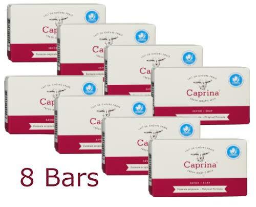 Caprina Canus Original Formula Fresh Goat's Milk Soap 3.9 oz each (8 bars)