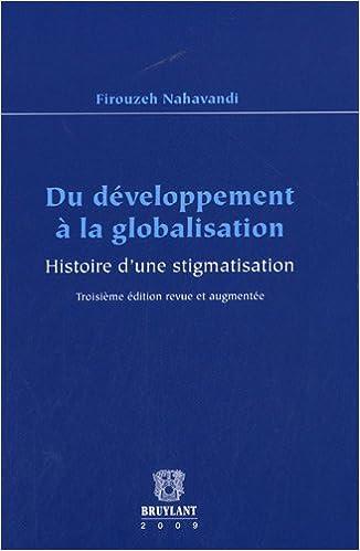 Livre gratuits Du développement à la globalisation : Histoire d'une stigmatisation pdf, epub ebook