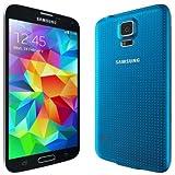 Samsung Galaxy S5 G900F Unlocked Cellphone, Retail Packaging, 16GB, Blue