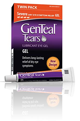 GenTeal Lubricant Eye Gel, Severe, 2 Pack, 0.34-Ounces each (Best Gel Eye Drops For Dry Eyes)