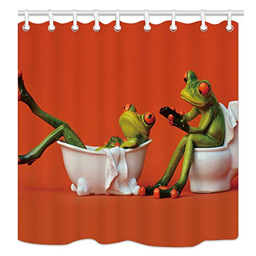 frog shower curtain - 9