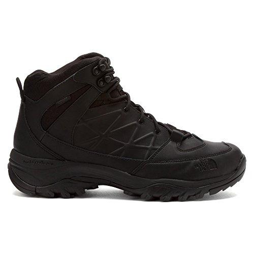 Il North Face Mens Storm Mid Boots Wp Pelle Nero / Nero Cc81kx7 Tnf Nero