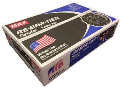 TW898-USA Regular MAX TIE Wire 50 ROLL CASE