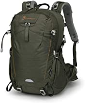 Mountaintop 35L Hiking Backpack for Outdoor Camping with Rain Cover