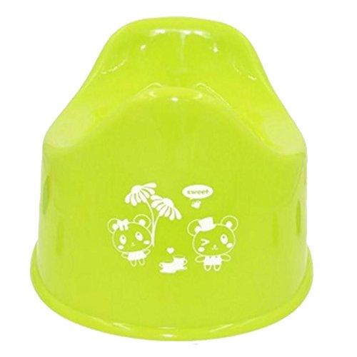 Bacinica entrenamiento insignificante del bebé Boy Asientos de inodoro accesorios de baño verde