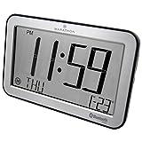 Best marathon Atomic Clocks - MARATHON CL800001SH Bluetooth Panoramic Clock System - Brushed Review