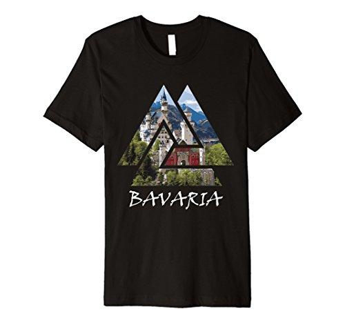Germanys Neuschwanstein Castle - Bavaria Germany Neuschwanstein Castle T-Shirt