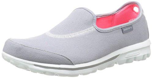 Skechers Gowalk Impress, Sandales de marche Femme Gris (Gry 13771)