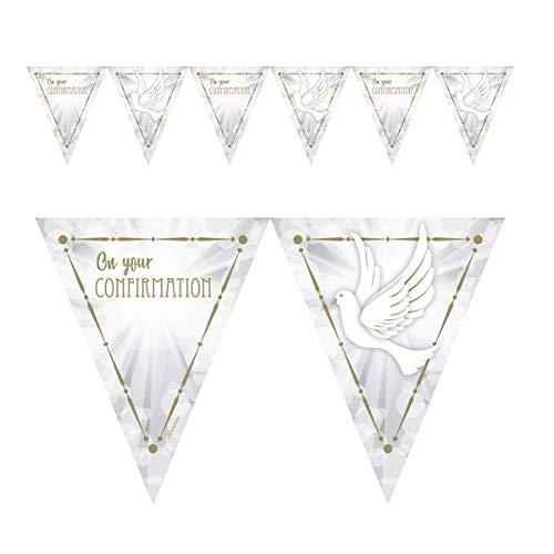 Amscan International Amscan 9904538 Decoration Pennant Banner Printed 1 Each Confirmation