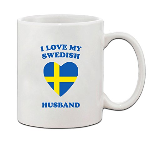 I love my SWEDISH Husband Ceramic Coffee Tea Mug Cup 11 oz