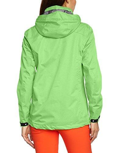 bretelle rinforzati Chiaro rimovibili e softshell con Killtec bordi Pantaloni Verde donna x4I4Pq
