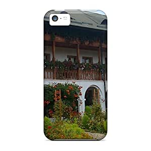 Snap-on The Ostrov Monastery Romania Case Cover Skin Compatible With Iphone 5c