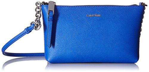 Calvin Klein Hayden Saffiano Key Item Crossbody (Key Item Cross Body)