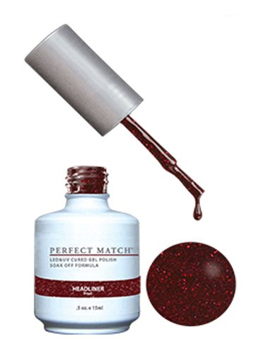 LECHAT Perfect Match Gel Polish, Headliner, 0.5 Ounce