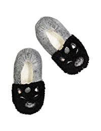 Jacques Moret womens Comfy Plush Dreamy Fuzzy Babba Socks Slipper Sock