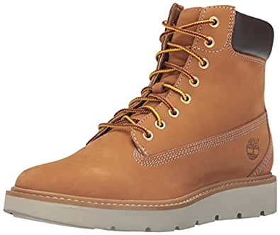 Timberland Women's Kenniston 6 Inch Lace Up Boot, Wheat Nubuck, 5.5 M US