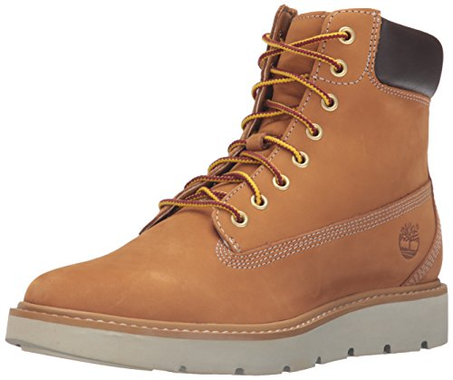 6 Nubuck Dark Grey Kenniston inch Yellow Timberland Full Boot Women's Wheat Varies Grain aqZw7BE