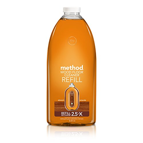 Method Squirt + Mop Wood Floor Cleaner Refill, Almond, 68 Ounce - Amazon.com: Method Squirt & Mop Wood Floor Cleaner - Almond - 25