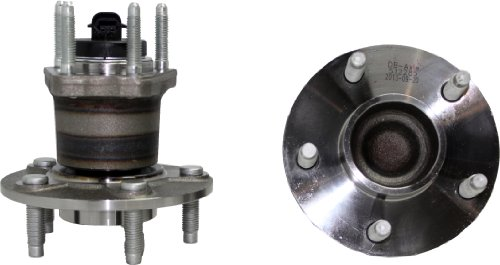 Pair Rear Wheel Hub and Bearing Assembly Set 5-Lug w/4-Wheel ABS Only for [08-10 Cobalt SS & HHR SS ()