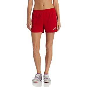 ASICS Women's Rival Short (Red), Small