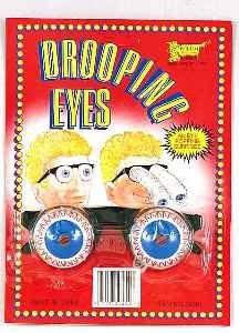 Googly Eye Glasses (Drooping Eyes Spring Glasses)
