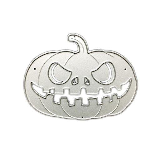 Halloween Pumpkin Metal Cute Cutting Dies Cut Dies StencilTemplate Mould for DIY Scrapbook Album Paper Card (Cutting A Pumpkin For Halloween)