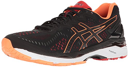 ASICS Men's Gel-Kayano 23 Running Shoe, Black/Onyx/Carbon, 10.5 M US