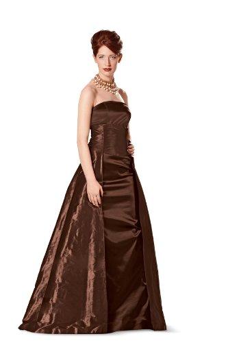Burda Schnittmuster 7155 Corsagenkleid, Abendkleid, berrock Gr. 34 ...
