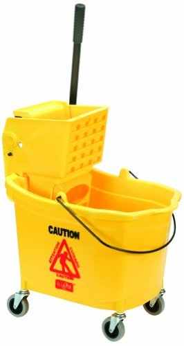 SKILCRAFT 7920-01-343-3776 Combination Wet Mop Bucket and Wringer Set by Skilcraft