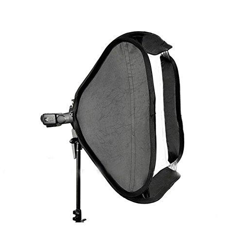Godox SFUV8080 Bracket Bowens S Mount Holder + 80cmx80cm Soft Box + Bag for Speedlite Flash (Black)