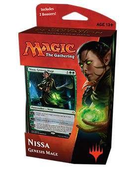 MTG, Hour of Devastation, Nissa, Genesis Mage Planeswalker Deck