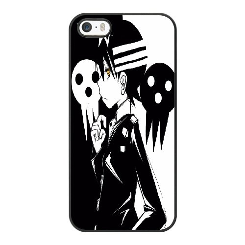 Coque,Coque iphone 5 5S SE Case Coque, Soul Eater Death The Kid Cover For Coque iphone 5 5S SE Cell Phone Case Cover Noir