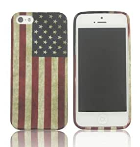 SUPWISER-5SHUA01 New Flower TPU Rubber Skin Case Compatible with Apple iPhone 5/5S Pattern 11
