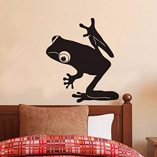 Pbldb 44X59Cm Frog Wall Decal Vinyl Art Sticker Murals Interior Decor Kids Bedroom Nursery Wall Stickers Home Decoration