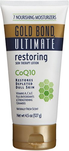 (Gold Bond Ultimate Skin Therapy Cream green tea & vitamin C 4.5 oz (Pack of 2))