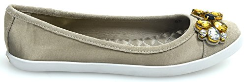 LIU-JO WOMAN BALLERINA FLAT SHOES SYNTHETIC FIBER/SUEDE CODE S15151 T0380 38 PEPE BIANCO 9fWW4IJofD