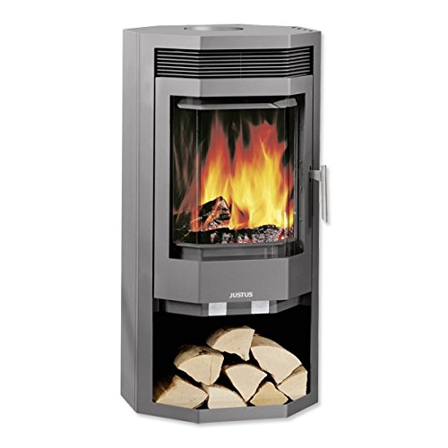 JUSTUS Usedom 7 kW estufa de carbón horno de tronco: Amazon.es: Bricolaje y herramientas