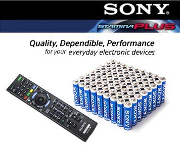 - SONY S-AM3B36A Stamina Plus Alkaline Batteries AA, 36 Pack