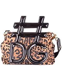 Women's MCBI099391O Brown Leather Handbag