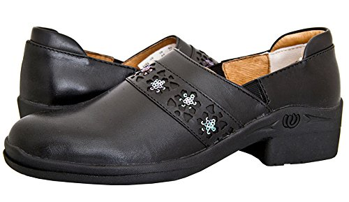 hoof-woof-womens-black-full-grain-leather-comfort-heel-lock-clog-shoes-8