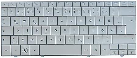 orig. QWERTZ Teclado para HP Compaq Mini 1100 de blanco nuevo ...