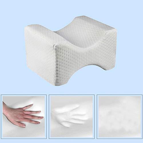 Memory Foam Cuscini Posizionatore Gamba Ergonomica Wedge Contour Cuscino ZoneYan Cuscino Gambe per Dormire Cuscino per Ginocchia